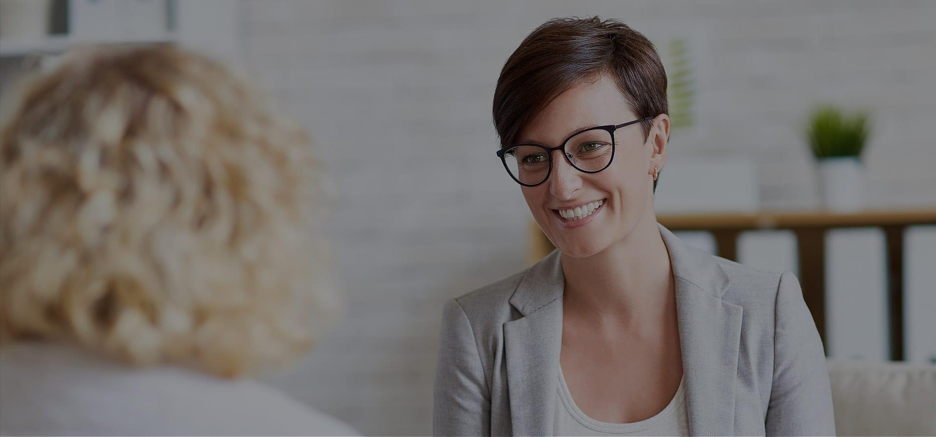psychologist and client